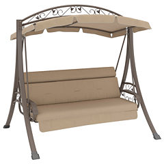 Nantucket Arched Canopy Patio Swing