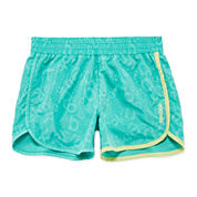 Reebok® Toss Printed Logo Shorts - Preschool Girls 4-6x