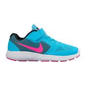 Nike® Revolution 3 Girls Running Shoes - Kids