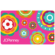 $100 Pink Flowers Gift Card