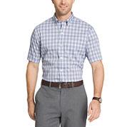 Van Heusen Short Sleeve Flex Non Iron Stretch Button-Front Shirt