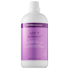 DERMAdoctor Ain't Misbehavin'® Healthy Toner with Glycolic & Lactic Acid