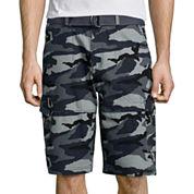 Ecko Unltd.®  Beveler Camo Cotton Cargo Shorts