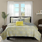 Madison Park Rhodes 6-pc. Coverlet Set