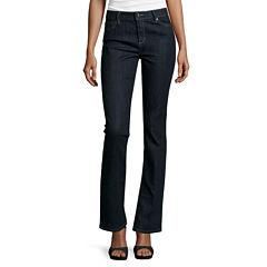 Liz Claiborne® Classic-Fit Straight-Leg Jeans