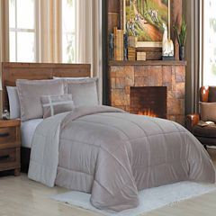Avondale Manor Micro Sherpa 4Pc Comforter Set
