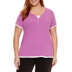 Made For Life Short Sleeve V Neck T-Shirt-Plus