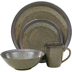 Sango Omega 16-pc. Reactive Glaze Dinnerware Set