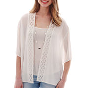 Heart & Soul® Elbow-Sleeve Layered Necklace Top