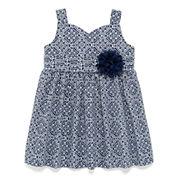 Marmellata Sleeveless Printed Sundress - Baby Girls 3m-24m
