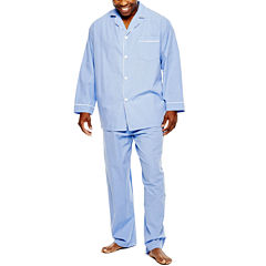 Stafford® Broadcloth Pajama Set - Big & Tall
