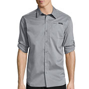 ZeroXposur® Air Long-Sleeve Woven Button-Front Shirt