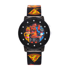 Five Nights At Freddy'S Boys Multicolor Strap Watch-Fnf4035jc