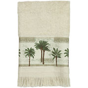 Bacova Citrus Palm Fingertip Towel