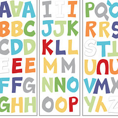 NoJo® ABC with Me by Jill McDonald Wall Decals