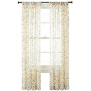 Liz Claiborne® Sabra Textured Sheer Window Treatments