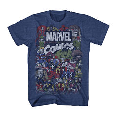 Vintage Marvel Short-Sleeve Graphic Tee