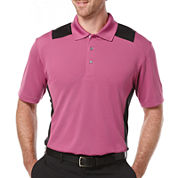 PGA TOUR® Short-Sleeve Airflux Colorblock Polo