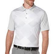 PGA TOUR® Short-Sleeve Altered Argyle Golf Performance Polo