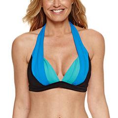 Pure Paradise Bra Sized Halter Swimsuit Top