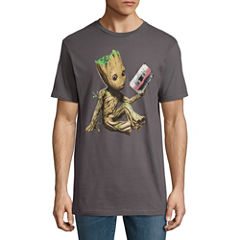 Guardians of the Galaxy Groot Tape  Graphic T-Shirt
