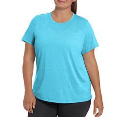 Champion Short Sleeve Scoop Neck T-Shirt-Plus