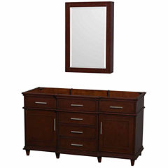 Wyndham Collection Berkeley 60 inch Single Bathroom Vanity