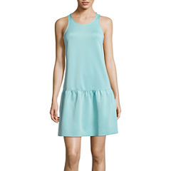 BELLE + SKY™ Drop-Waist Scuba Dress