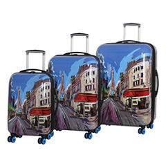 IT Luggage Virtuoso 8 Wheel 3-Pc Hardside Luggage Set