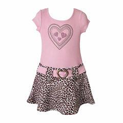 LiltShort Drop Waist Dress - Preschool Girls