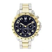 Zoo York® Mens Blue Two-Tone Bracelet Watch