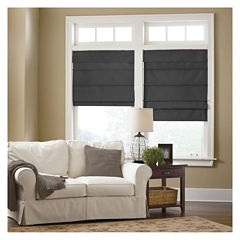 JCPenney Home™ Custom Cotton Classic Thermal Roman Shade