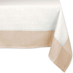 Design Imports Border Tablecloth