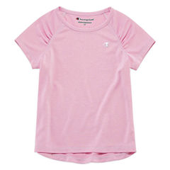 Champion Short Sleeve T-Shirt-Toddler Girls