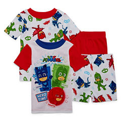 4-pc. PJ Masks Kids Pajama Set Boys