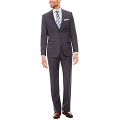 Collection by Michael Strahan Textured Gray Suit Separates-Slim Fit