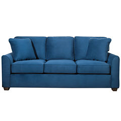 Fabric Possibilities Quick Ship Sharkfin-Arm Sofa