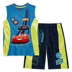 Disney 2-pc. Cars Short Set Big Kid Boys
