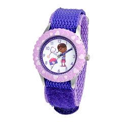 Disney Kids Doc McStuffins Character Time Teacher Watch