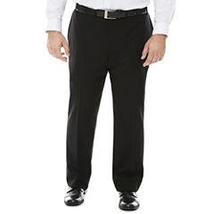 Claiborne® Grid Flat-Front Suit Pants - Big & Tall