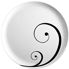 Zak Designs® Urbana Set of 12 Plastic Dinner Plates