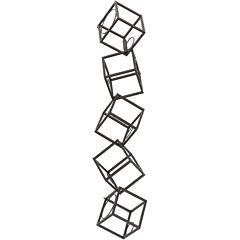Cubism Wine Wall Rack