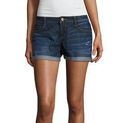 Arizona Denim Shorts-Juniors