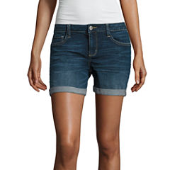 Arizona Midi Shorts-Juniors
