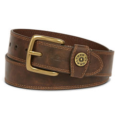 Realtree® Brown Leather Belt