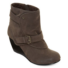 Guppy Love® Baham Wedge Ankle Boots