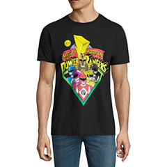 Power Rangers Short Sleeve Power Rangers Tv + Movies Graphic T-Shirt