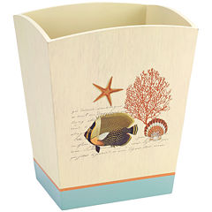 Avanti® Seaside Vintage Wastebasket