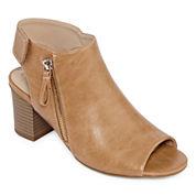 Andrew Geller Sellney Womens Heeled Sandals