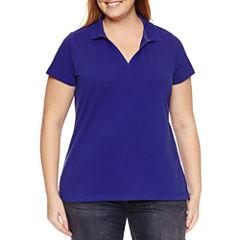 St. John's Bay Short Sleeve T-Shirt-Plus
